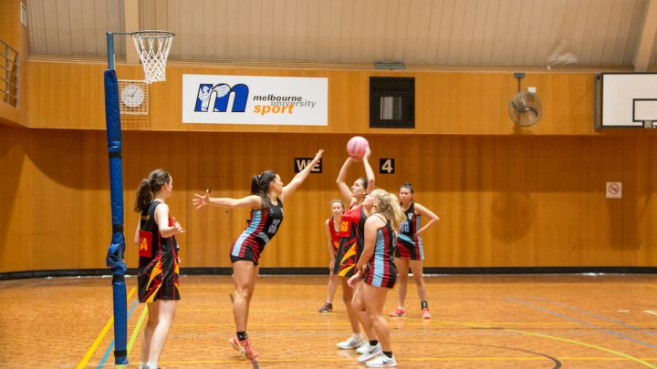 Netball womens seconds Ormond students 2018
