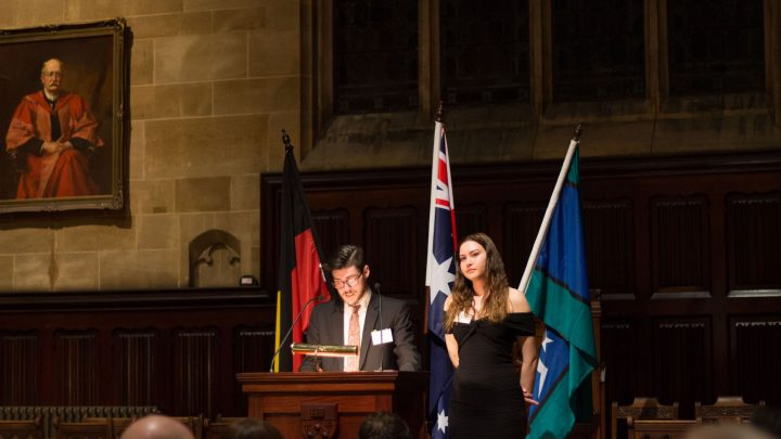 Patrick Mercer and Kinjia Munkara-Murray OCIP 2018 student address