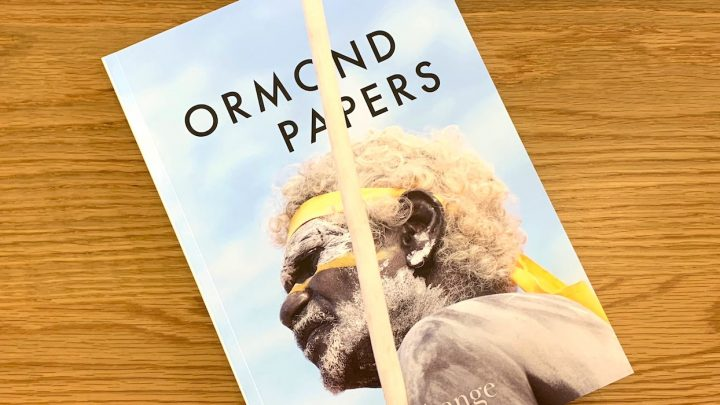 Ormond papers banner 2018